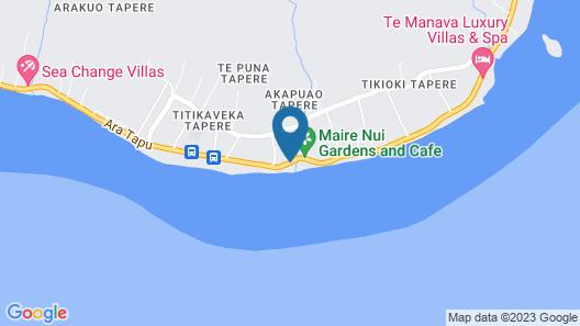 Little Polynesian Resort Map