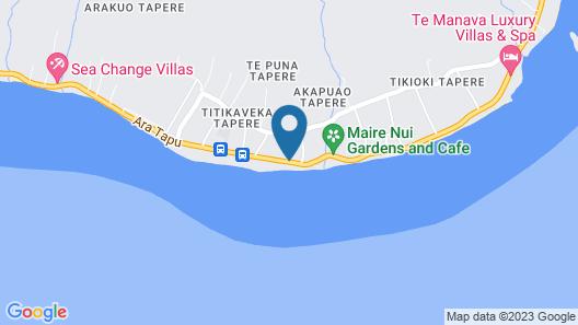Moana Sands Beachfront Hotel Map