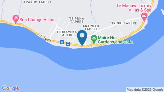 Moana Sands Beachfront Villas Map