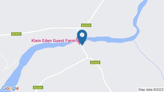 Klein Eden Guest Farm Map
