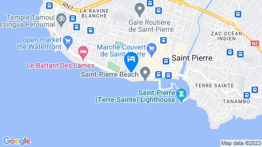 Appartement le Paille en Queue Map