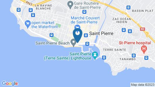 Villa Delisle Hôtel & Spa Map