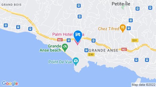 Palm Hotel and Spa Map