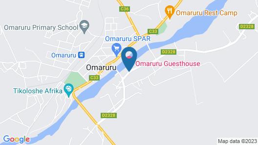 Omaruru Guesthouse Map