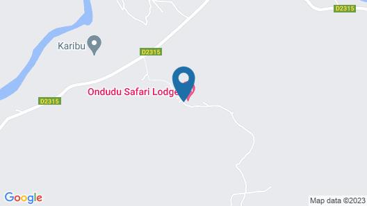 The Erongo Wild Map