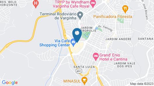 Class Hotel Varginha Map