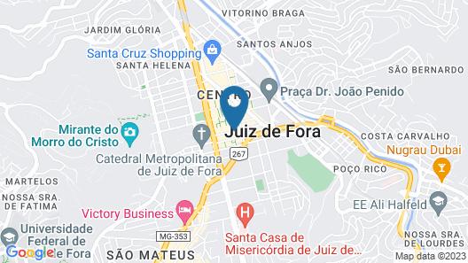 Serrano Residencial Hotel Map