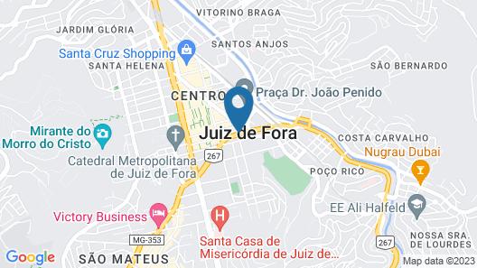 Nobile Express Juiz de Fora Map