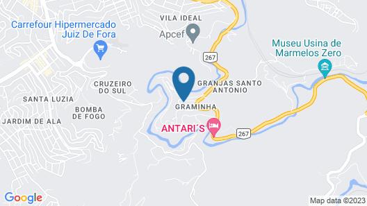 Motel Paineiras Map