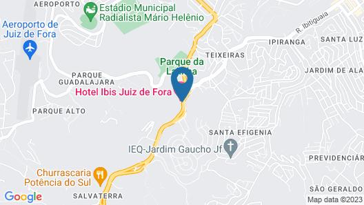 Ibis Juiz De Fora Map