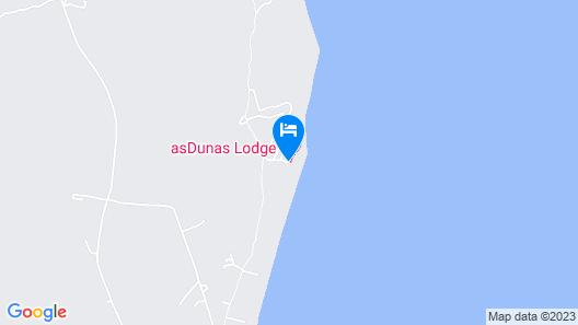 asDunas Lodge Map