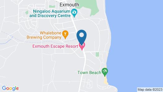Exmouth Escape Resort Map