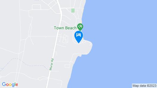 Mantarays Ningaloo Beach Resort Map