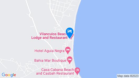 Vilanculos Beach Lodge Map