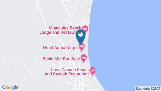 Villa do Paraiso Map