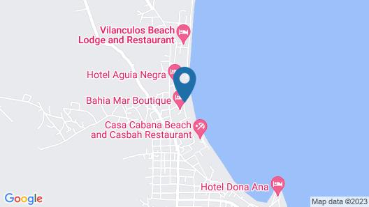 Bahia Mar Boutique Hotel Map