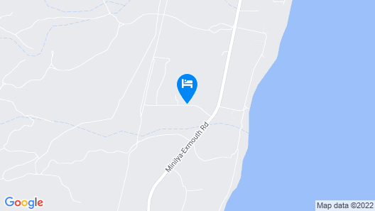 Ningaloo Bed and Breakfast Map