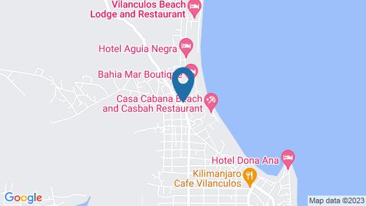 Santorini Mozambique Map