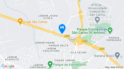 The Hill Executive Map