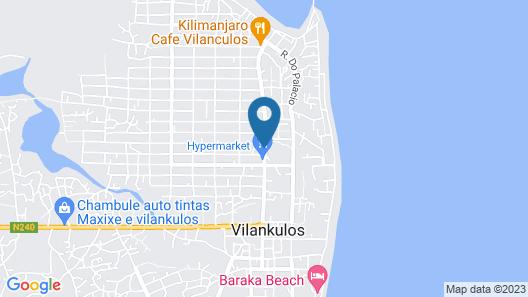 Hotel Bernna Map