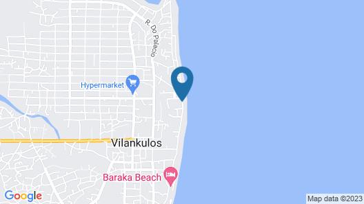 Palmeiras Lodge Map