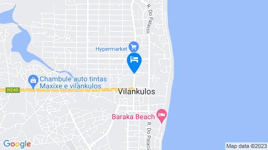 Hotel Central Vilanculos Map