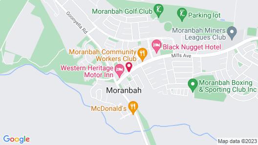 Moranbah Motor Inn Map