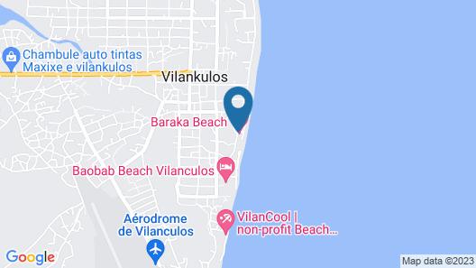Bahia Mar Beach House Map