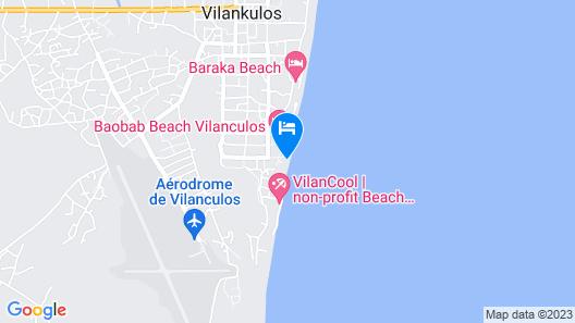 Bush Beach Backpackers Map