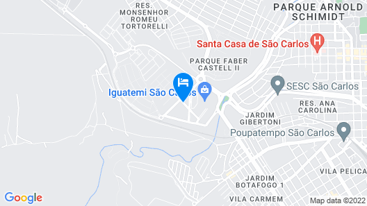 ibis Sao Carlos Map
