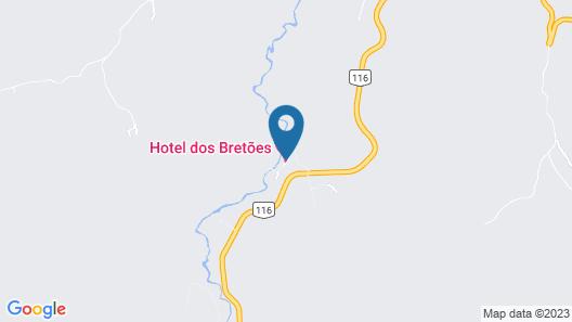 Hotel dos Bretões Map