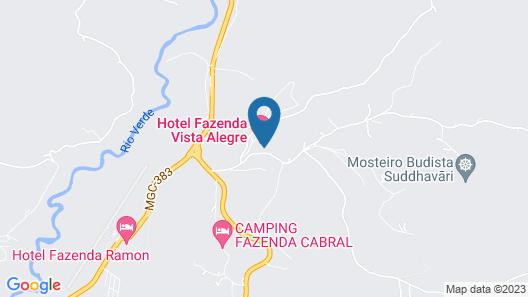 Hotel Fazenda Vista Alegre Map
