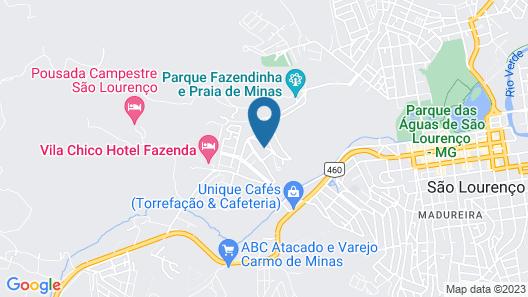 Pousada Casarão de Minas Map