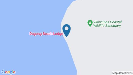 Dugong Beach Lodge Map