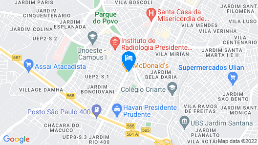 Muchiutt Park Hotel Map