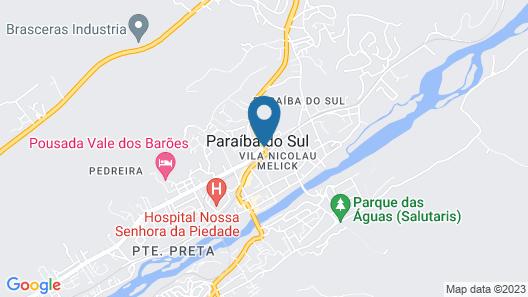 Hotel Fazenda Cachoeiras de Cavaru Map