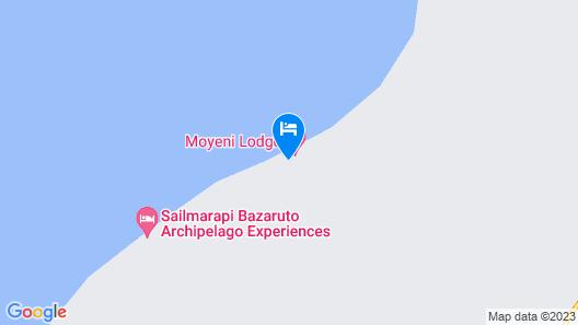 Moyeni Lodge Map