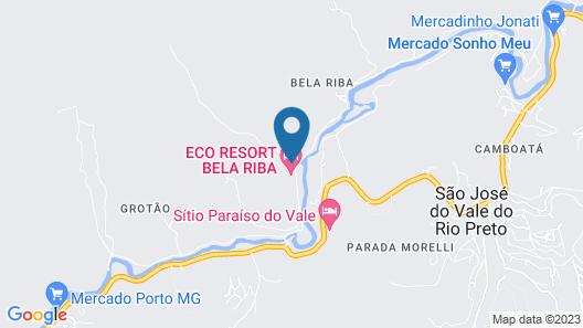 Eco Resort Bela Riba Map