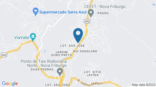 Hostel e Restaurante Serra Carioca Map