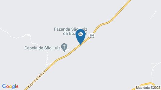 Fazenda São Luiz da Boa Sorte Map