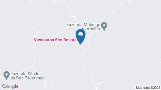 Vassouras Eco Resort Map