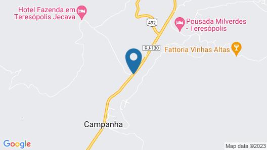 Hotel Fazenda JeCaVa Map
