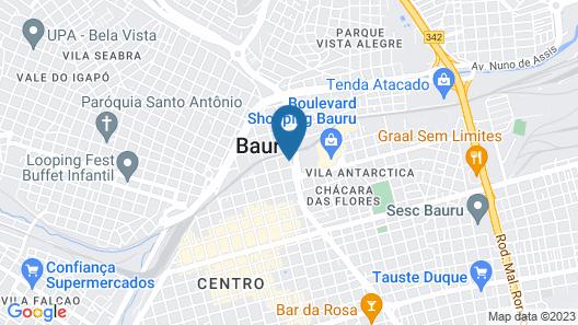 Biazi Plaza Hotel Map