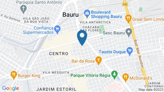 Hotel Saint Martin Map