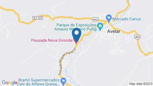 Pousada Nova Gironda Map