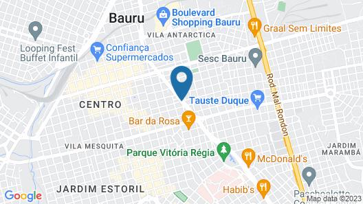 Comfort Hotel Bauru Map