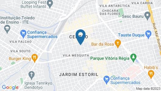 Hostel Bauru Map