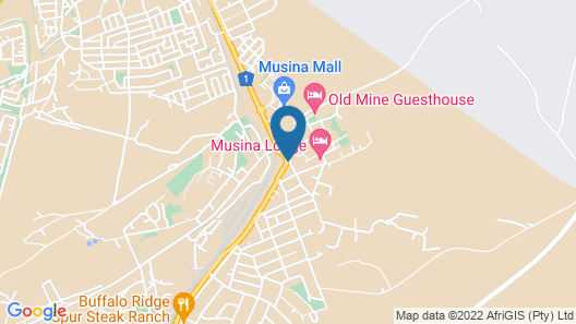 Musina Hotel Map