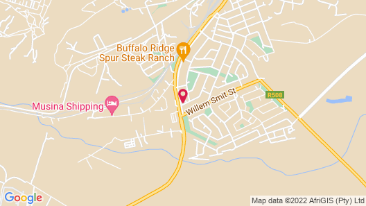 Herberg Guest House & Coffee Shop Map