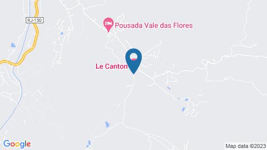 Hotel Fazenda Suiça Le Canton Map